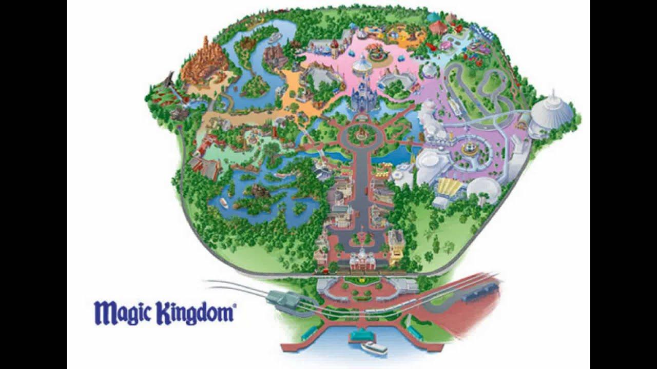 Magic Kingdom Interactive Map YouTube - United kingdom clickable map