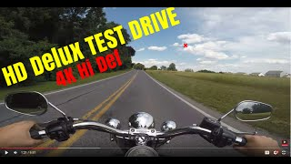 2006 Harley Davidson softail Deluxe test drive review