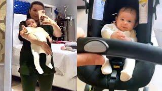 La hija de Larry Hernández y Kenia Ontiveros, Dalett cumple 4 meses