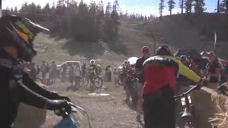 Dual Slalom Mens Final Round at the 2016 Volkswagen Mt Bike Nationals(Run 1 and Run 2 of Men's dual slalom gold medal race between Mitch Ropelato and Kyle Strait., 2016-07-21T22:30:01.000Z)