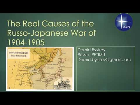 The Real Causes Of Russo-Japanese War 1904-1905 By Demid