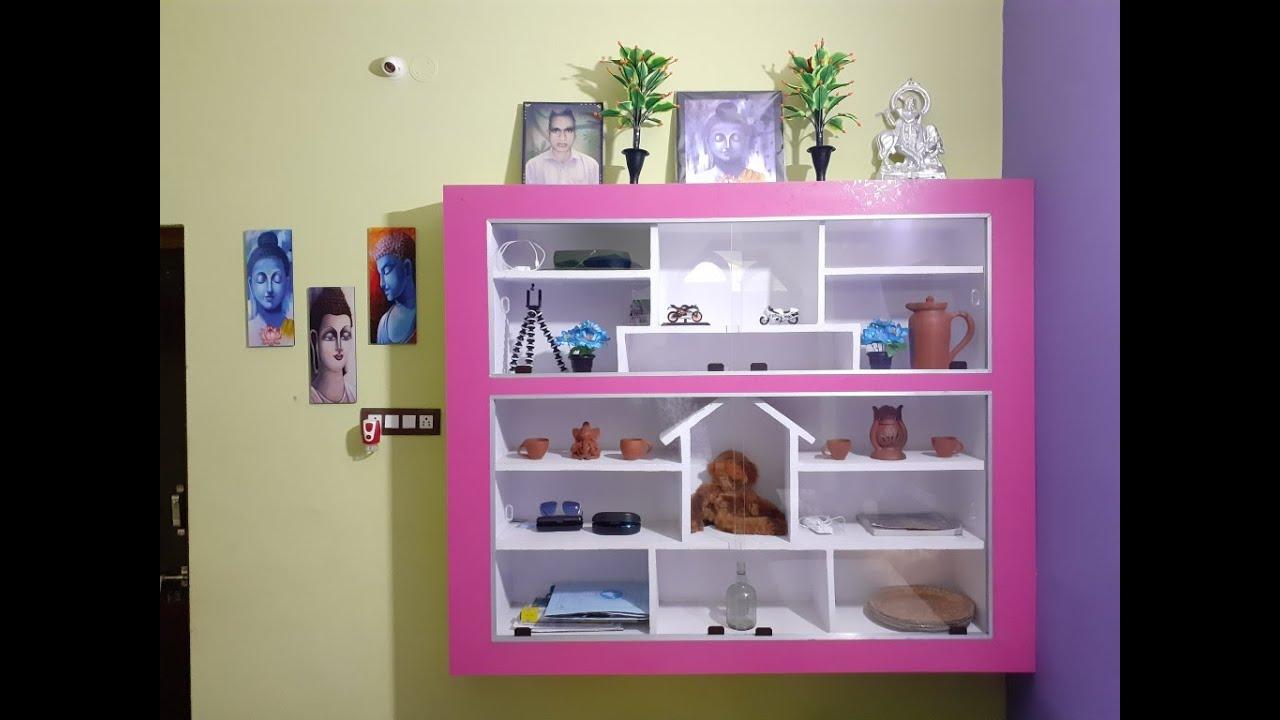 Home Decoration Part 2 Showcase Design Youtube