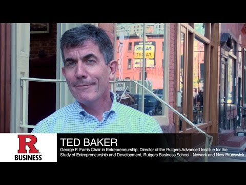 Professor Ted Baker discusses entrepreneurship and inequality of opportunity at investiture