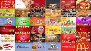 Top 36 (Part1) Fast Food Brands, Restaurants Spoof Pixar Lamps Luxo Jr Logo