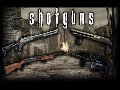 Resident Evil 4 Weapon Showcase: Shotguns