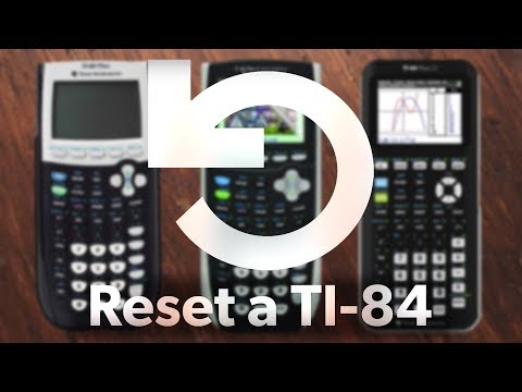 How to Reset Your TI-84 Plus CE Calculator