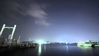 h iiaロケット21号機 しずくの打ち上げを徳島から撮影
