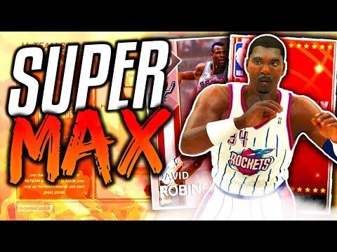 NBA 2K18 MyTEAM HAKEEM OLAJUWON IS UNSTOPPABLE! 2K18 My TEAM SUPER MAX!