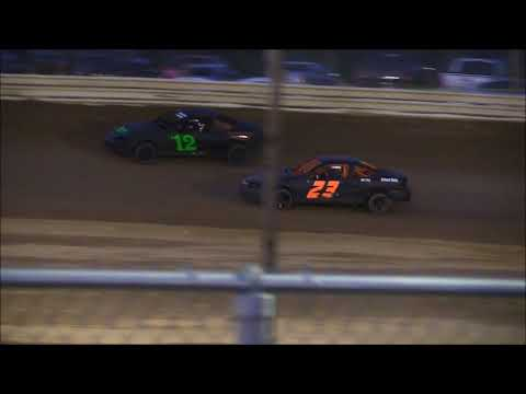 Compact Heat #1 from Jackson County Speedway, April 27th, 2018.