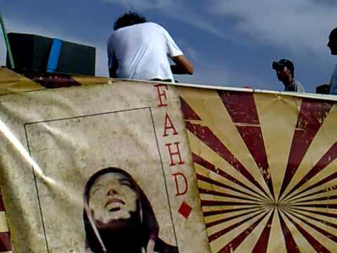 Amine K playing Dar Gnawa @ Morokan Tekno Parade 2010