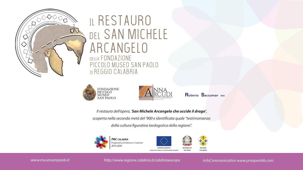 VIDEOSPOT - Restauro San Michele Arcangelo della Fondazione Piccolo Museo San Paolo
