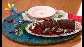 Шоколадный рулет: рецепт вкуснее магазинного – Все буде добре. Выпуск 1074 от 22.08.17
