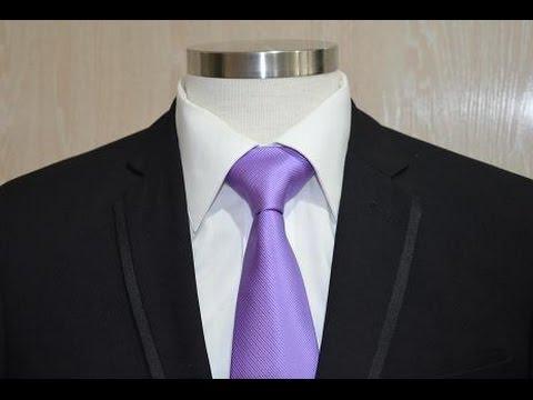 Como hacer nudo de corbata pratt paso a paso youtube for Pasos para hacer nudo de corbata
