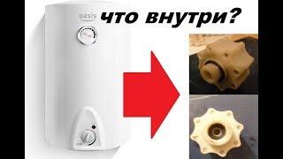 Китайский электробойлер ОАЗИС и его компоненты, см...