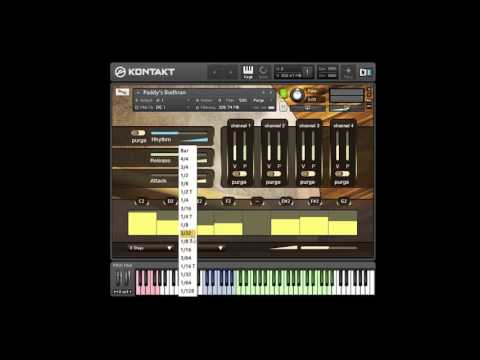 Paddy's Percussion Sample Library Walkthrough