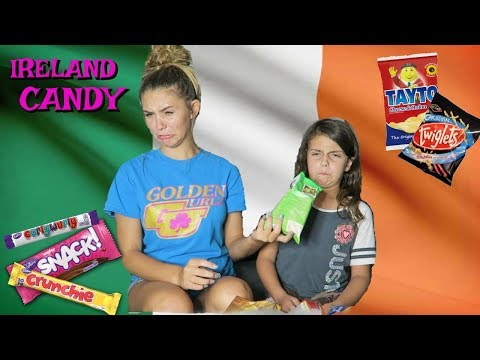 TRYING IRELAND CANDY!