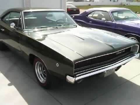 1970 Challenger R T Plum Crazy And 1968 Charger Youtube