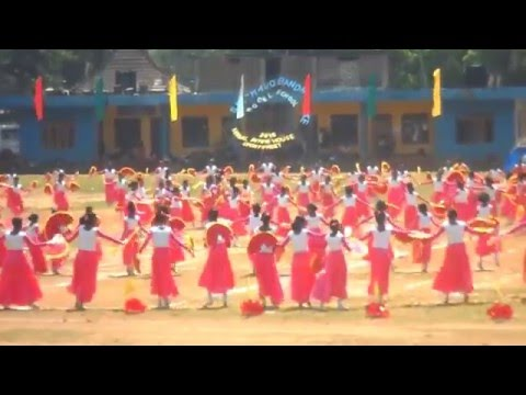 Sport Meet 2016 of Sirimavo Bandaranayake College - Matale - Final Day Opening Ceremony Dancing