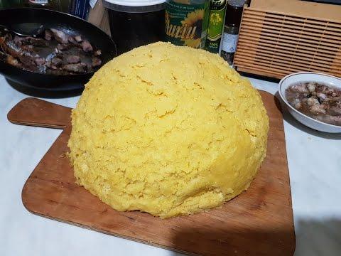 Готовим мамалыгу, рецепт моей бабушки