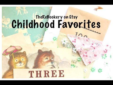 Childhood Favorites Junk Journals: TheReBookery Etsy Shop Update: Junk Journal Process