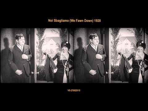 Noi Sbagliamo (We Fawn Down) 1928 - comparison