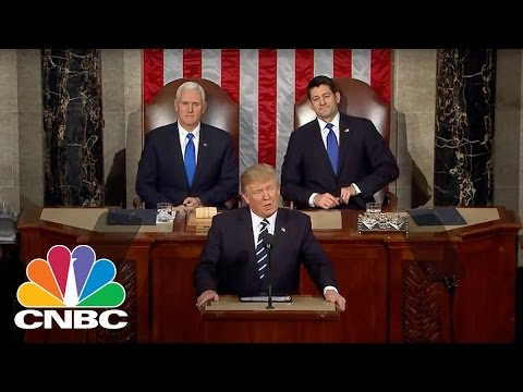 President Donald J. Trump's Address To A Joint Session Of Congress (Full Speech) | CNBC