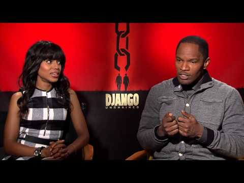 Jamie and Kerry talk Scandal, Django and Slavery in this interview for Django Unchained