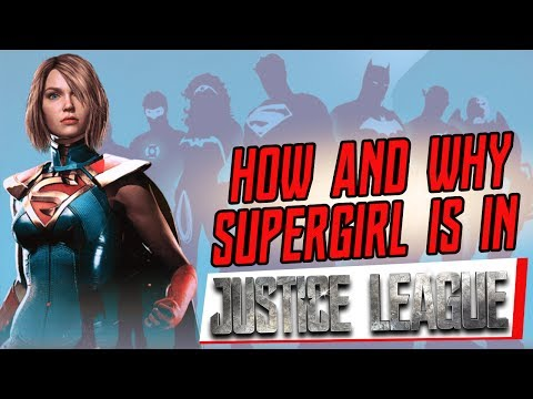 JUSTICE LEAGUE THEORY - Why and HOW Supergirl will be in the Justice League film