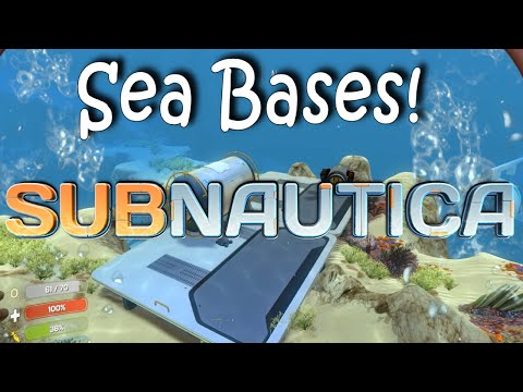 Subnautica Sea Bases!  Epic!