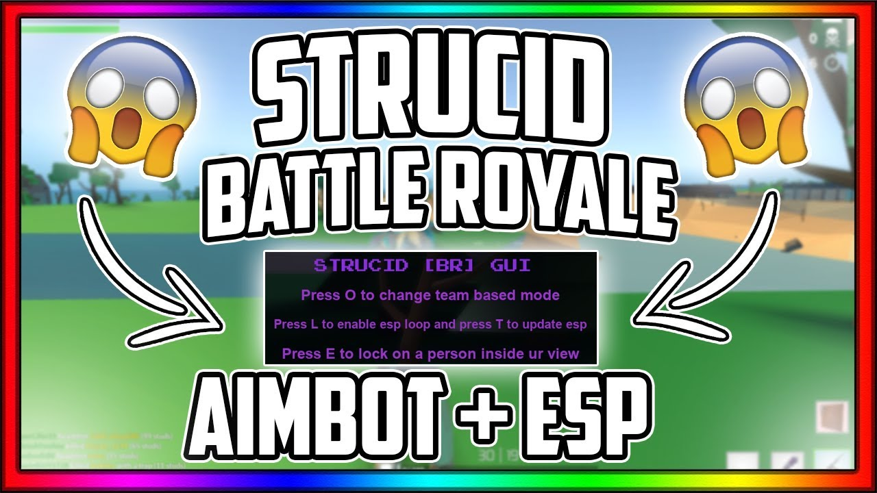 *INSANE* 😱 STRUCID BATTLE ROYALE AIMBOT & ESP 🤑 (AIMBOT ...