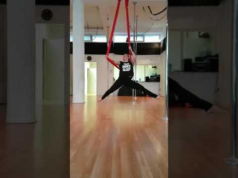 Aerial Hammock Dance Flow, Pole Inspiration Dance Studio