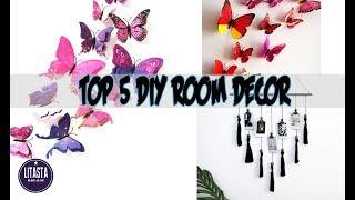 KereN !! Top 5 ide mudah dekorasi kamar wajib dicoba |DIY ROOM DECOR