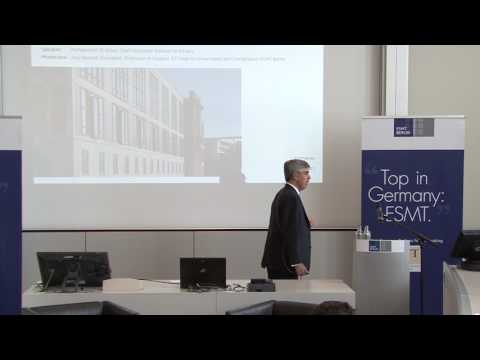 ESMT Open Lecture with Mohamed A. El-Erian