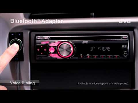 "JVC Mobile Car Audio Receiver ""Bluetooth(R) Adapter"""