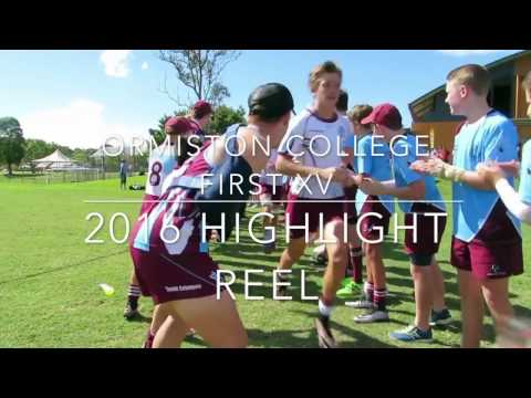 Ormiston College First XV 2016 | Highlight Reel