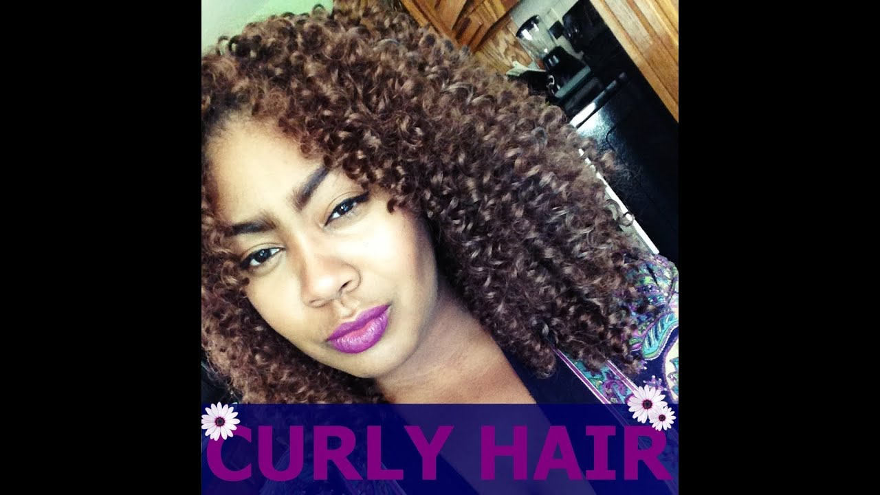 My Big Curly Hair Secret - Crochet Braids - YouTube