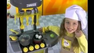 видео Большая электронная кухня Zanussi