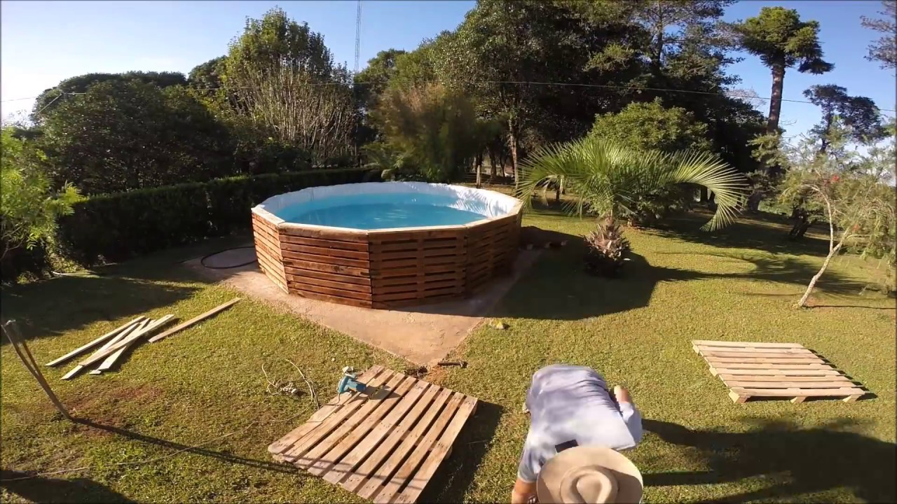 piscina de pallets youtube
