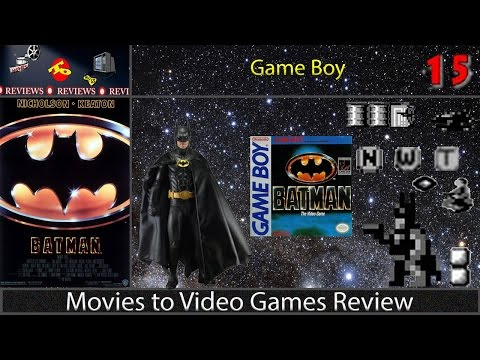 Movies to Video Games Review -- Batman (Game Boy)