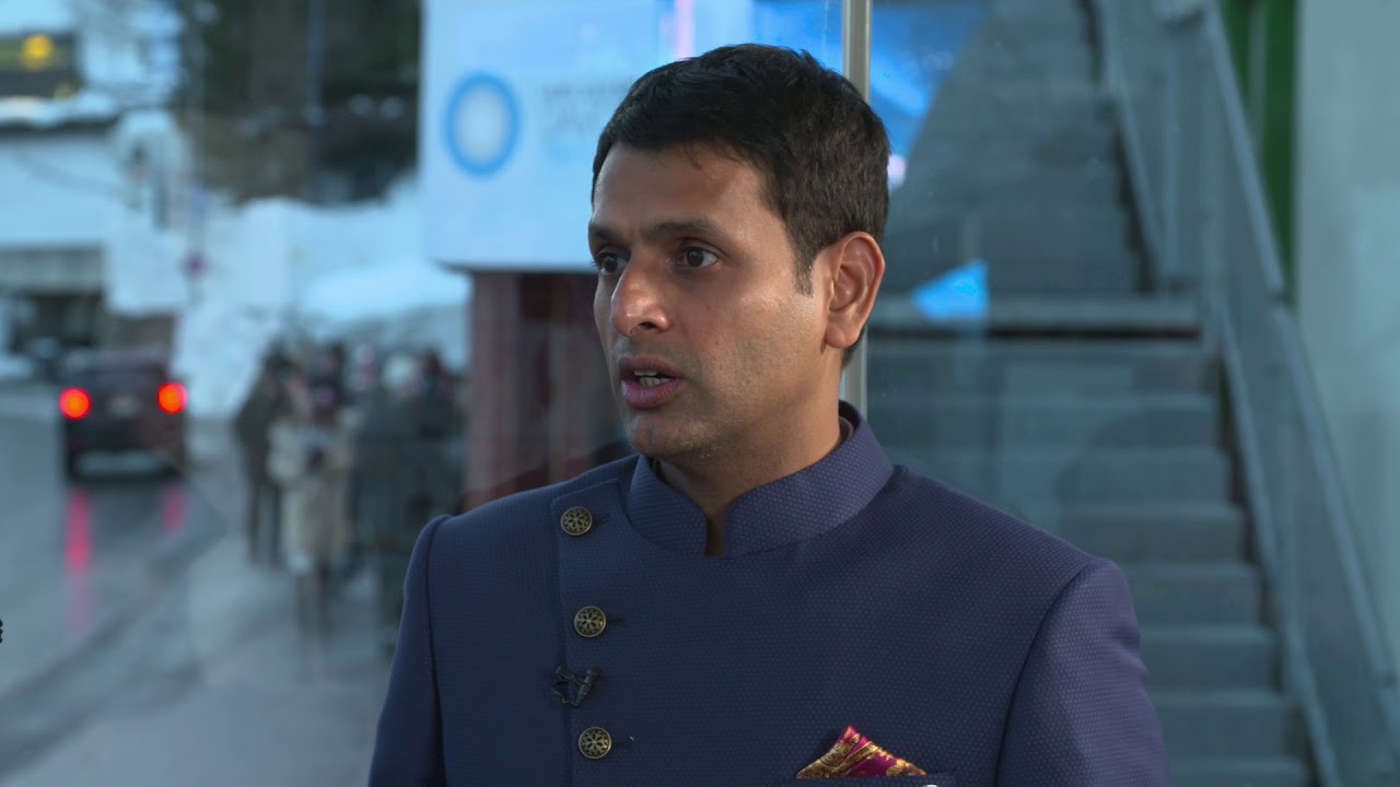 Hub Culture Davos 2018 - Vineet Mittal, Chairman of Avaada Group