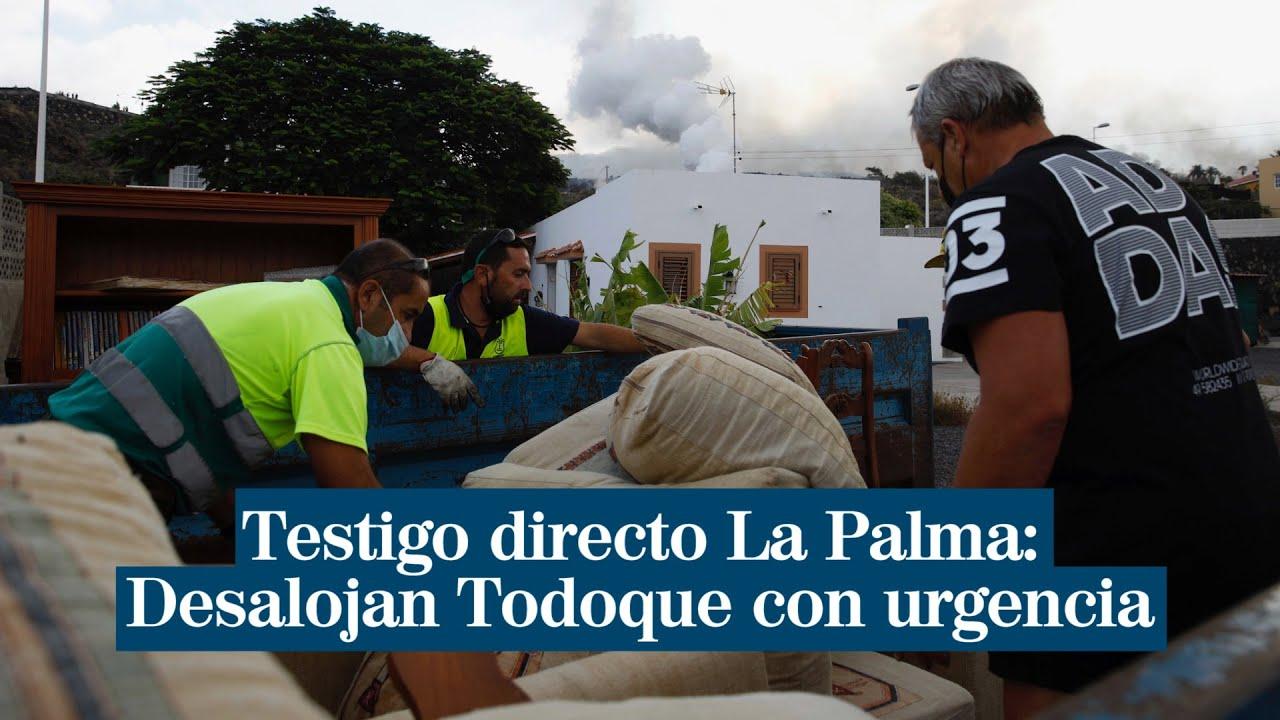 "Testigo directo | Desalojo de Todoque a toda prisa: ""Estas casas desaparecerán en pocos minutos"""