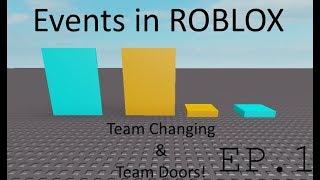ROBLOX Lua Tutorial | Events