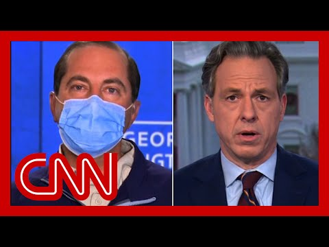 CNN: US crosses horrific milestone mid-interview. See Azar's response