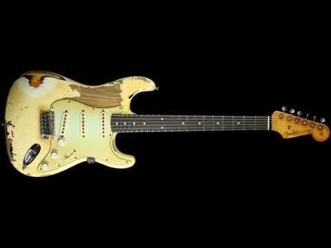 Jive Funky Blues in A/Backing Track Play Your Guitar with Accompaniment