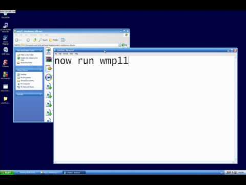 Media Player 11 for Unregistered Windows XP
