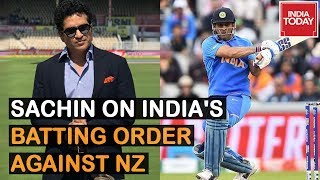 Dhoni At No. 5 Would Have Made A Difference : Sachin On India's Batting Order Against NZ