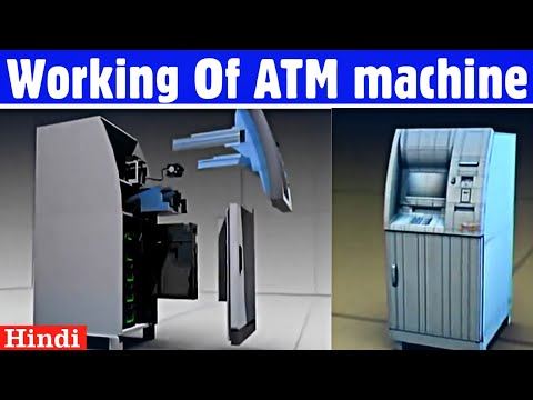 How ATM machines works ? Working Of ATM machines explained in Hindi  