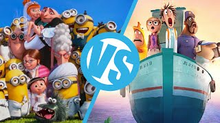 Download Video Despicable Me 2 VS Cloudy with a Chance of Meatballs 2 : Movie Feuds ep88 MP3 3GP MP4