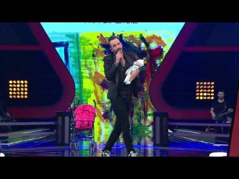 Μη Βιαστείς - Πάνος Μουζουράκης | LIVE @The Voice Of Greece