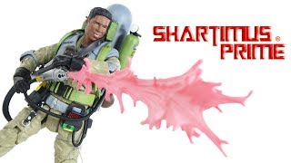 Ghostbusters 2 Slime Blower Winston Zeddemore Diamond Select Toys Movie Action Figure Toy Review
